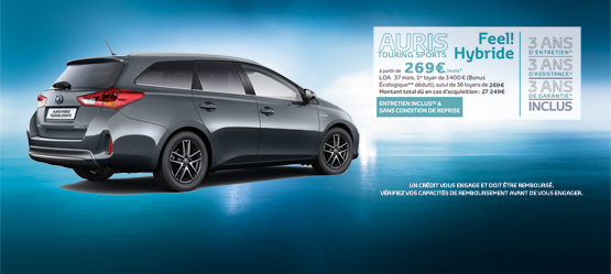 Toyota Auris Touring Sports Hybride