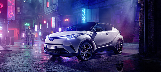 192 Toyota C-HR 1.2T Petrol from €27,170 or from €229 per month**
