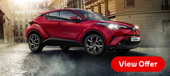 Upgrade to Toyota C-HR Sport for Free