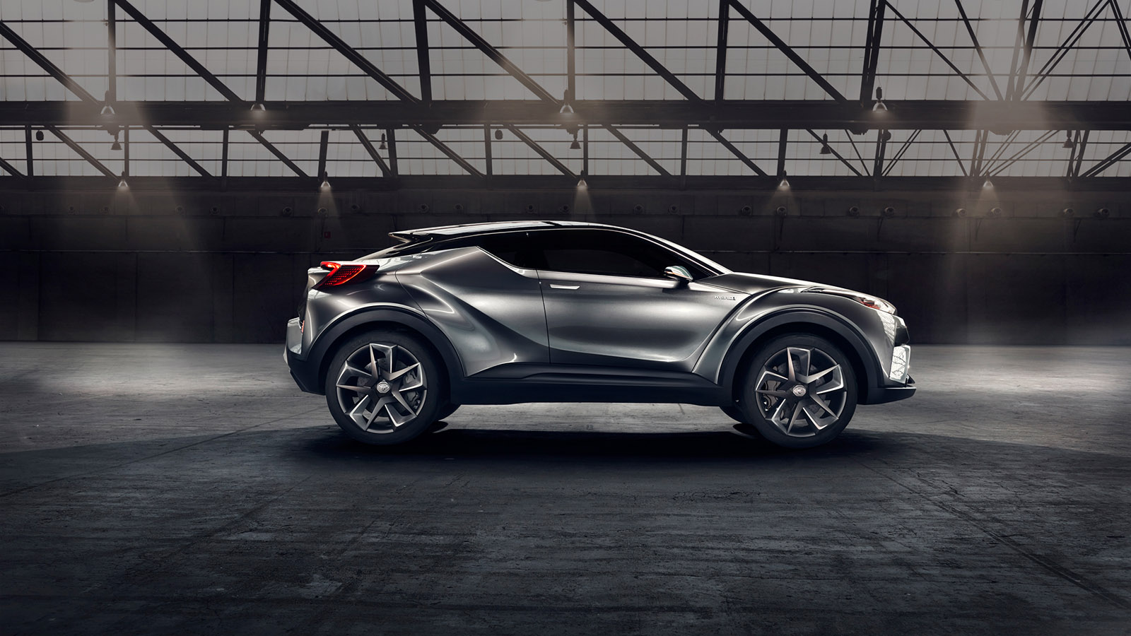 Toyota C-HR Concept: A Vision of the future