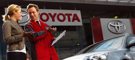 Toyota Launches ToyotaService.ie