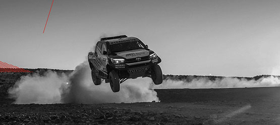 Tough, tougher, Team Hilux