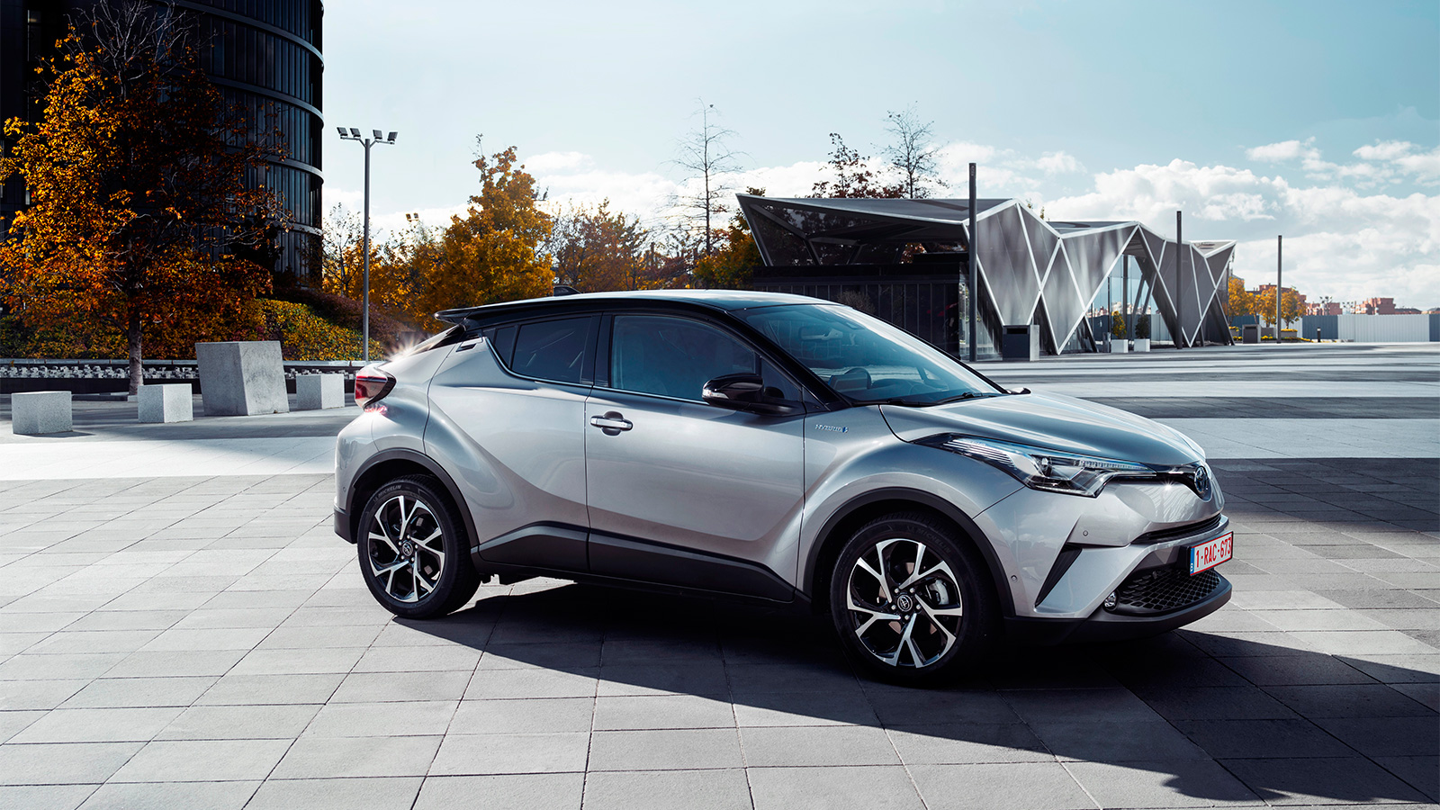 Unser neuer TOYOTA CHR bei quot;Car of the Year 2017quot;Wahl im Finale