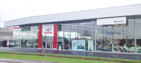 Toyota BusinessPlus Centers – Garage Boone
