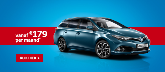 Nieuwe Auris Touring Sports Hybride 1.8 VVT-i Dynamic
