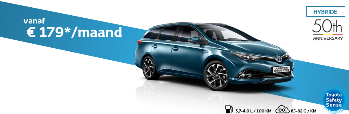 Auris Touring Sports 1.8 Hybride Comfort met 50th Anniversary pack