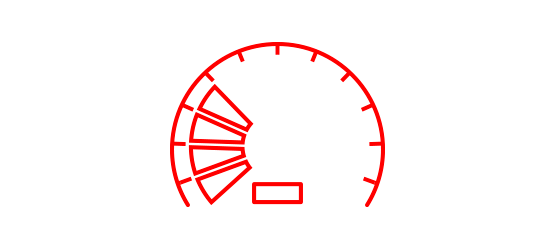 Average Speed Icon