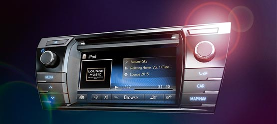 Il nuovo sistema multimediale Toyota Touch 2