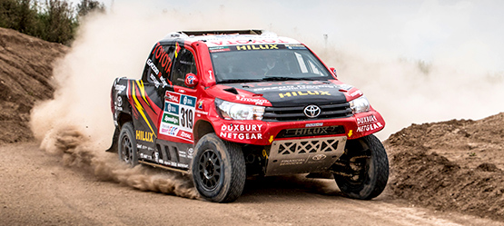 Toyota's Journey to Dakar 2016