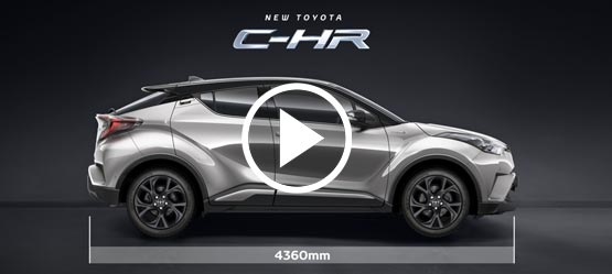 Toyota C-HR - Bigger than you think.