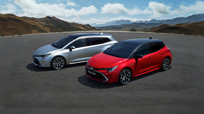 Toyota Nova Toyota Corolla 2019 Hatchback I Touring Sports