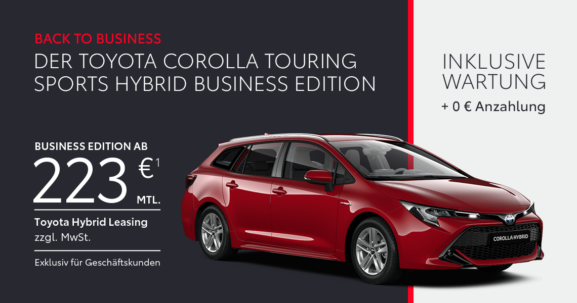 Corolla Touring Sports Hybrid <br>Business Edition