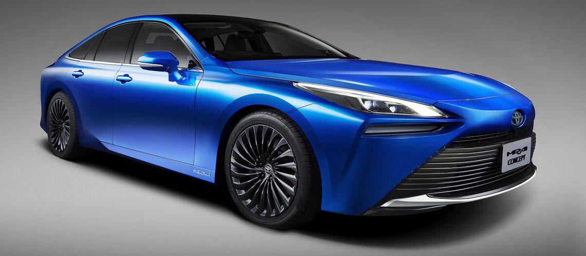 Toyota Mirai Concept: Ausblick auf zweite Modellgeneration der Brennstoffzellen-Limousine.