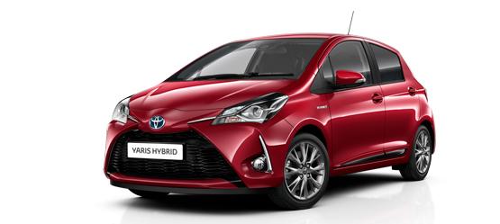 Privatleasing af udstyrsspækket Toyota Yaris Hybrid
