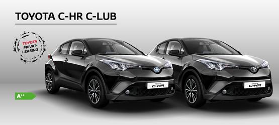 Toyota C-HR C-LUB - Privatleasing