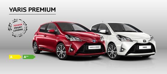 Toyota Yaris Premium - Privatleasing