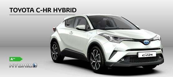 Toyota C-HR Hybrid C-LUB Premium Selected »