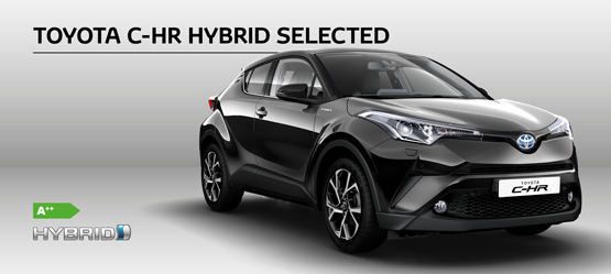 Toyota C-HR Hybrid Selected til kun 283.970 kr.*