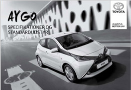 AYGO specifikationer