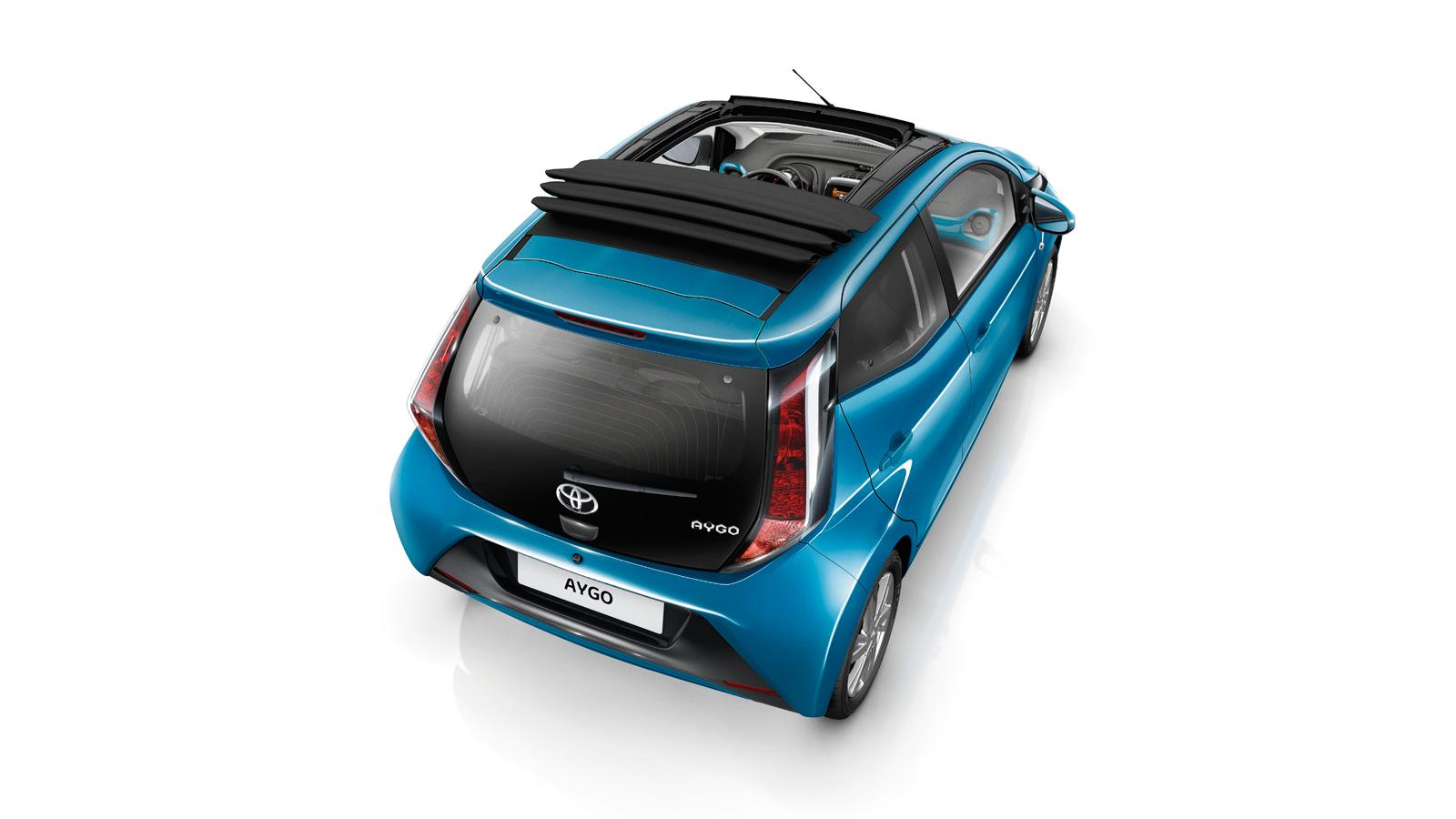 toyota aygo x cellence lille bil sp kket med udstyr. Black Bedroom Furniture Sets. Home Design Ideas