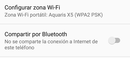 Comparte Internet desde Android con Toyota Toch2