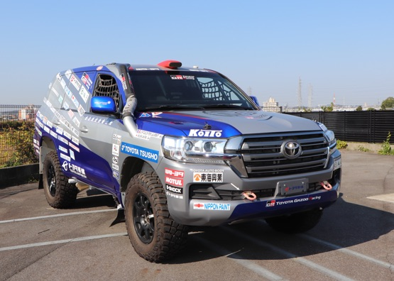 Land Cruiser Rally Dakar