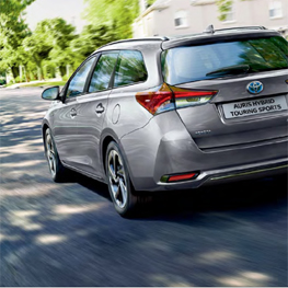 Prueba un Toyota Auris Touring Sports