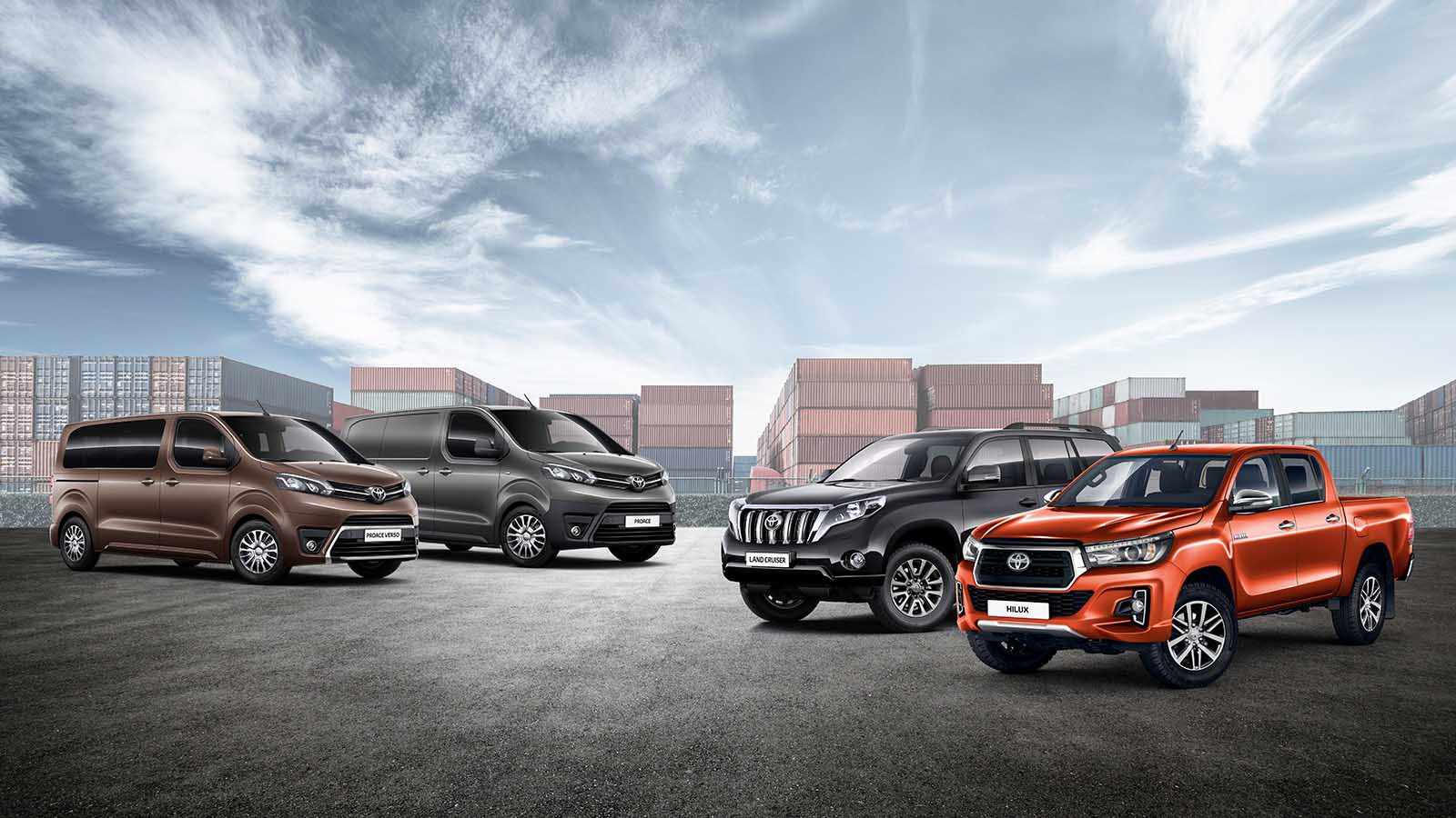 Toyota Chr Hybrid >> Commercial range - Toyota Europe