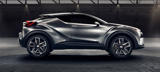 Toyota C-HR Concept: vision of the future