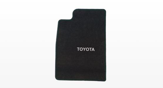 Counterfeit textile floor mat