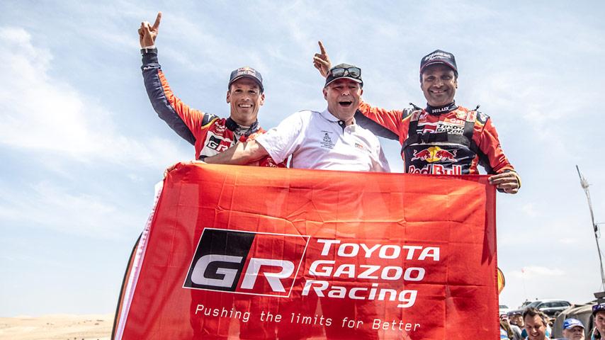 Toyota Europe - Dakar 2019: Victory!
