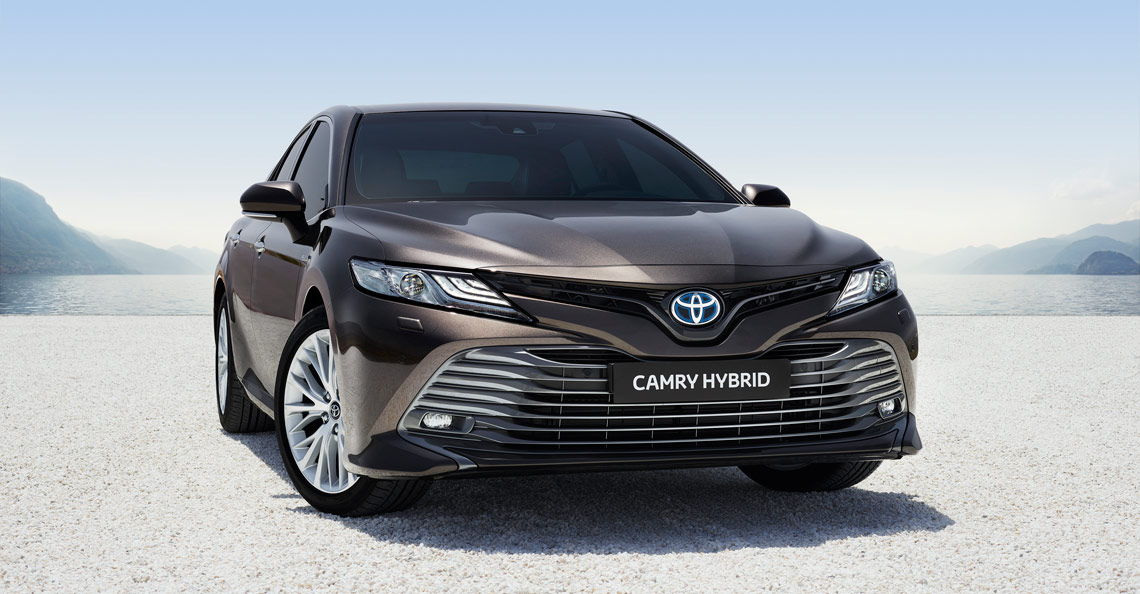 Toyota Camry Hybrid Luxury Sedan