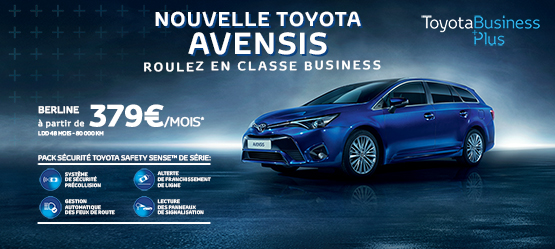 Nouvelle Toyota Avensis Business