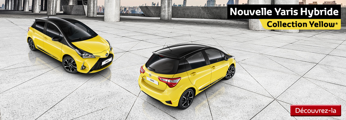 Yaris Hybride Collection Yellow
