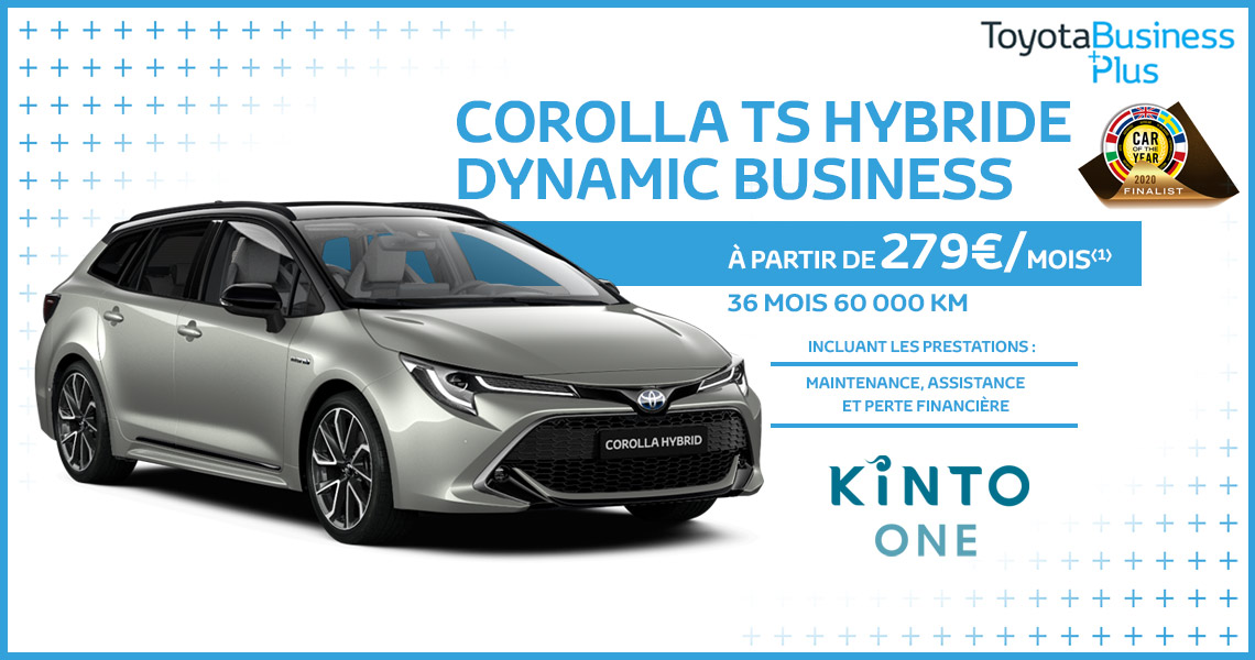 Toyota Corolla TS Hybride Dynamic Business