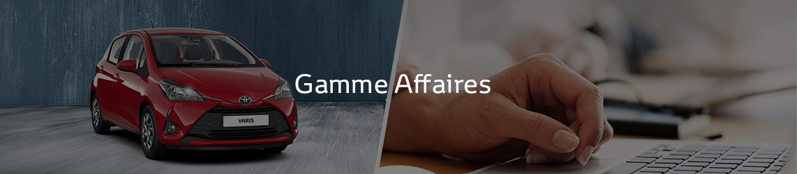 Gamme Affaires Toyota
