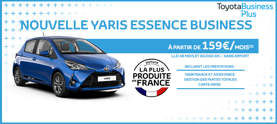 Nouvelle Yaris Essence Business