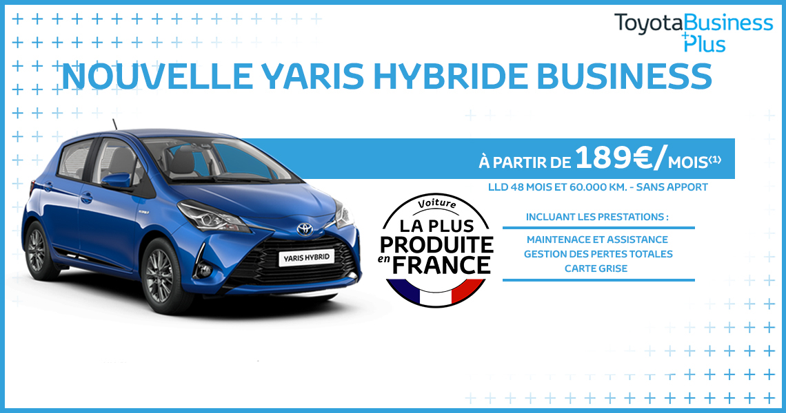 Nouvelle Yaris Hybride Business