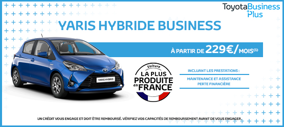 Toyota Yaris Hybride France Business