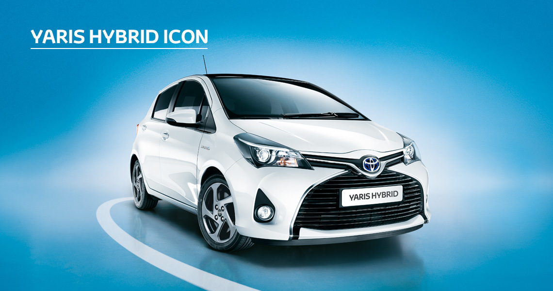 Yaris Hybrid Icon inc Toyota Safety Sense with Nil advance payment (Motability Users Only).