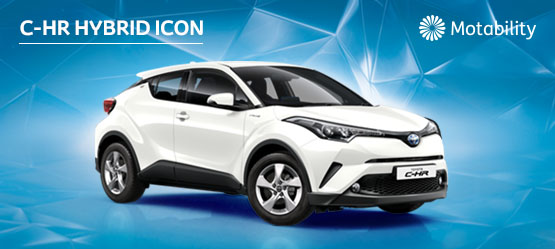 C-HR 1.8 Hybrid Manual inc Toyota Safety Sense Pre-Collision System £995 advance payment (Motability Users Only)