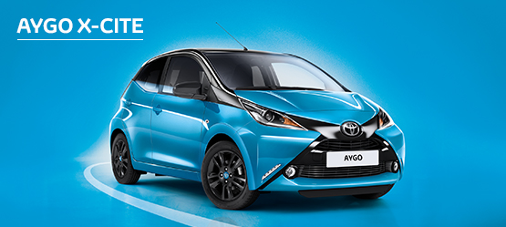 AYGO X-cite with 4.9% APR Representative*
