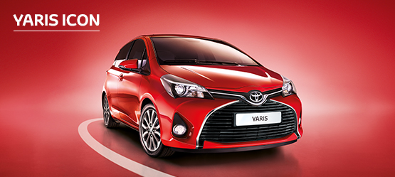 Yaris Icon from £189 + VAT per month† (Contract Hire)