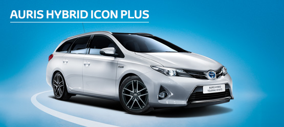 Auris Hybrid Touring Sports Icon Plus from £198 + VAT per month† (Contract Hire)