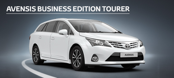 Avensis Icon Business Edition Tourer  from £187 + VAT per month†  (Contract Hire)