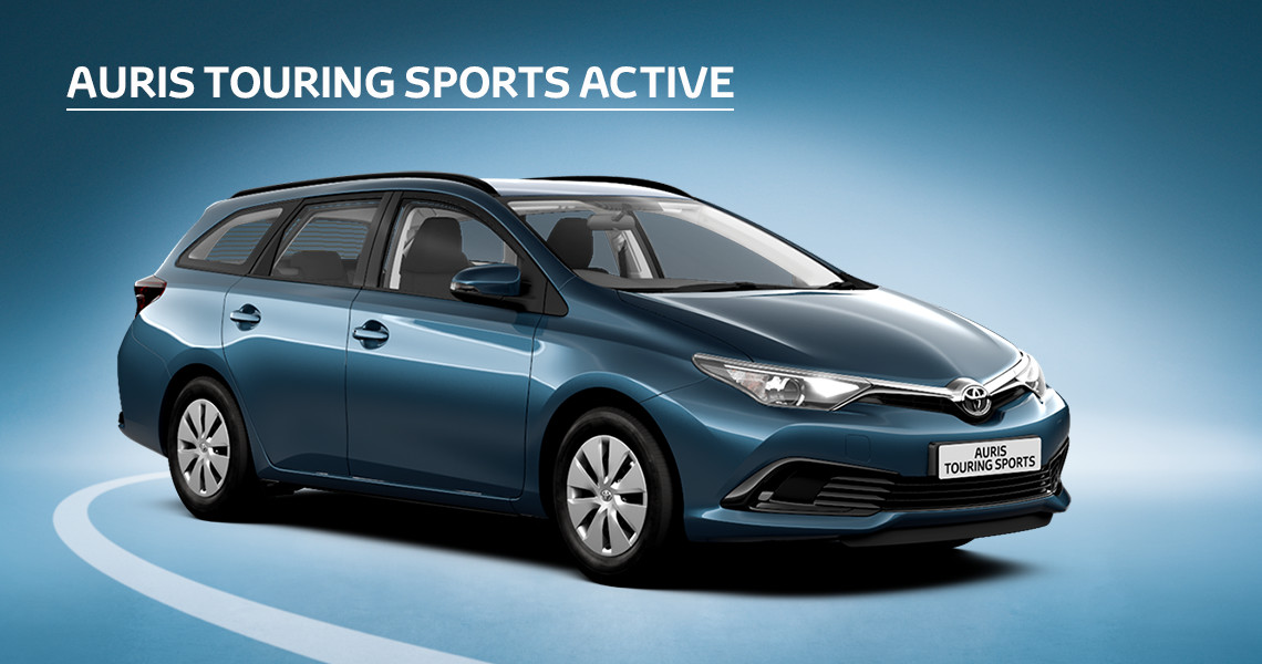 Auris Touring Sports Active with Nil advance payment (Motability Users Only).