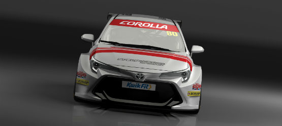 Toyota returns to the British Touring  Car Championship with the All New Corolla