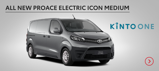 All New Proace Electric Icon Medium £410 + VAT per month* (Customer maintained)