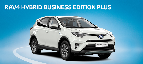 RAV4 Business Edition Plus from £225 + VAT per month† (Contract Hire)