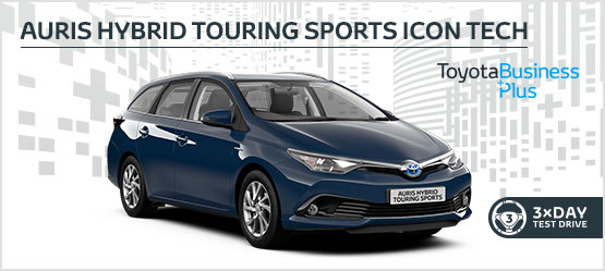 "<h3 style=""text-align: left;""><strong>Auris Hybrid Touring Sports Icon Tech £209 + VAT per month* (Customer maintained)</h3></strong>"